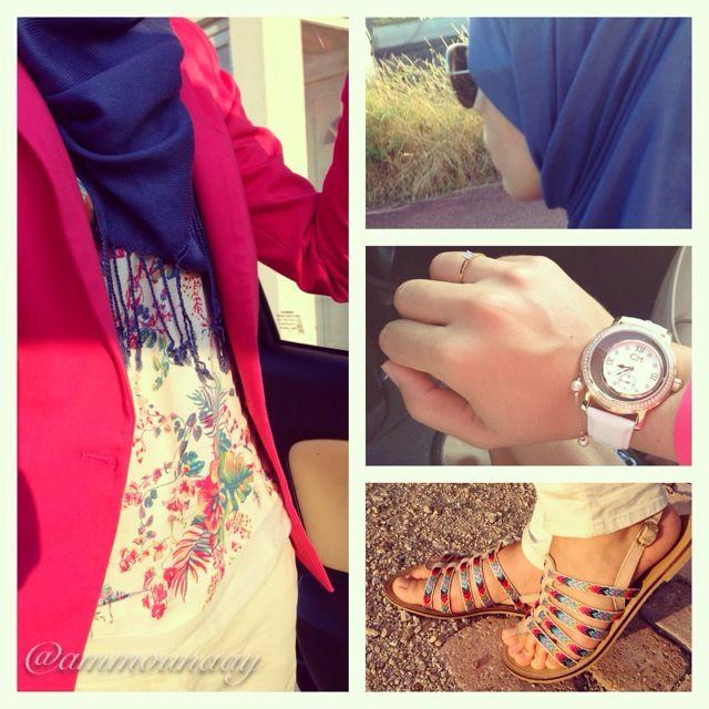 Pink it up! #HijabiFashion