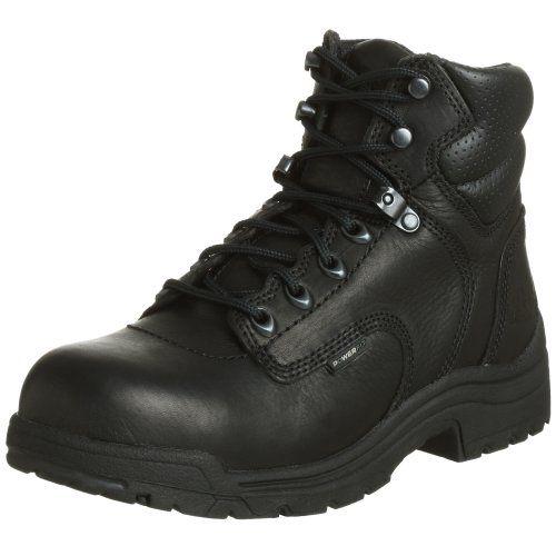 "cool Timberland PRO Women's 72399 Titan 6"" Safety-Toe Boot,Black,5.5 M"