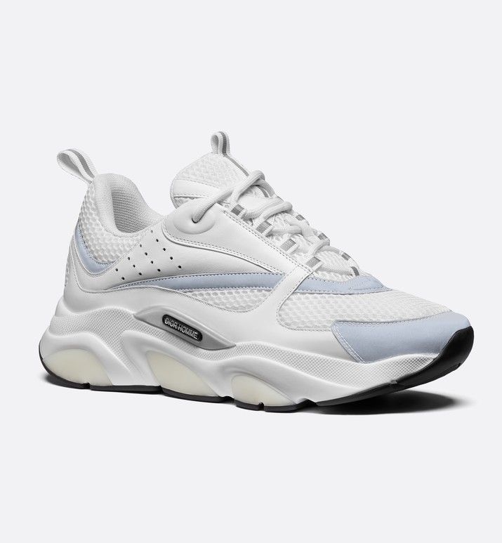 B22 Sneaker White Technical Mesh with