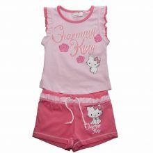 Set tricou/sort Charmmy Kitty - roz/roz