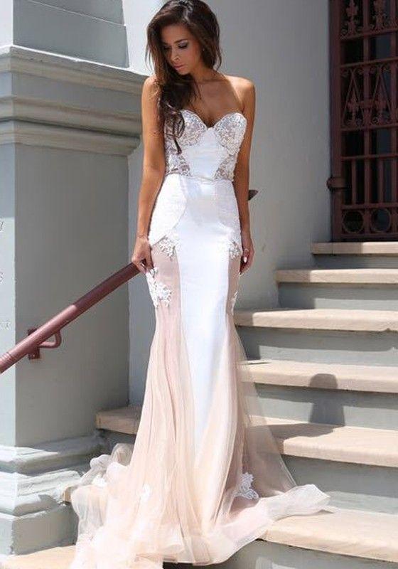 Sexy Dresses Pink Wedding Reception