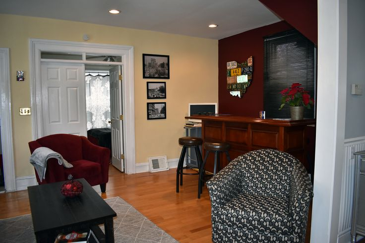 Airbnb vacation rental in Ohio City, Cleveland.