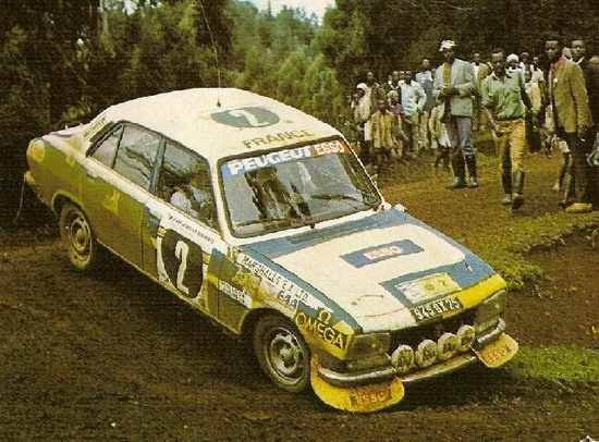'76 Peugeot 504 Safari Rally