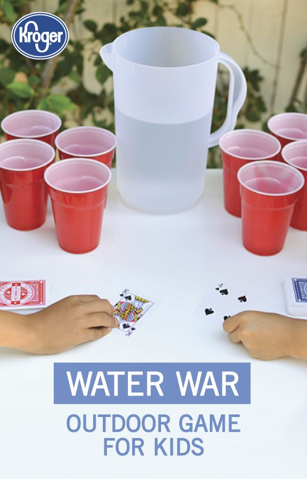 We love the idea of getting the kids outside for an end of summer celebration with this game idea for an outdoor water war from Inspired Gathering. Your kids are sure to love cooling off with this fun activity!