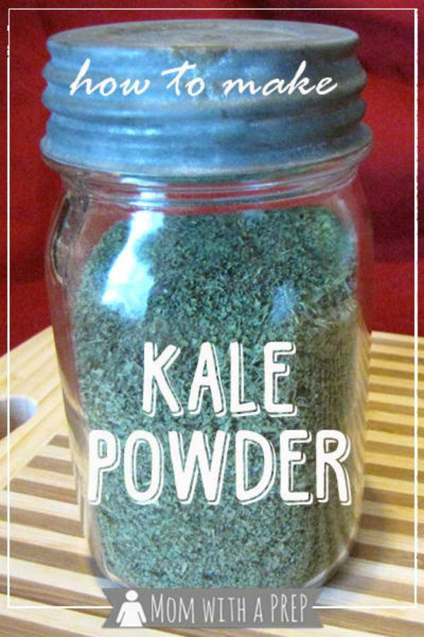 How to Make and Use Kale Powder | this stuff is awesome to store to use for smoothies and put in sauces and cooking. #pioneersettler
