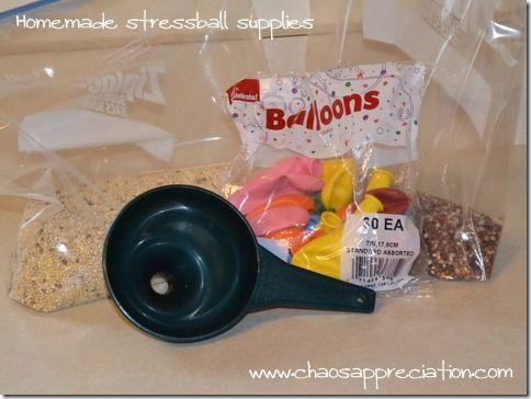 Student Anxiety Relief -- part 1- Stress Balls DIY! #homeschool
