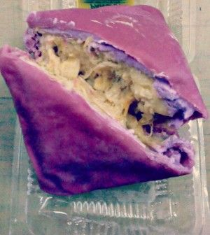 DURIAN BLUEBERRY PANCAKE RECIPE