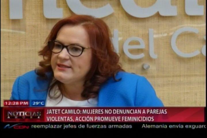 Ministra De Mujer Dice Que Auge De Os Feminicidio Es Porque Las Mujeres No Denuncian A Sus Maridos