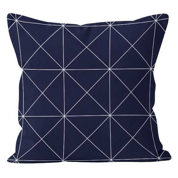 Poduszka Cleo Factory Granatowa 43x43 Cm Pillows Throw Pillows Decor