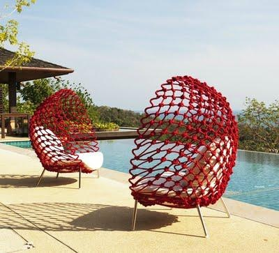 kenneth cobonpue - out door furniture that ( probably ) doesnt look like your mothers.