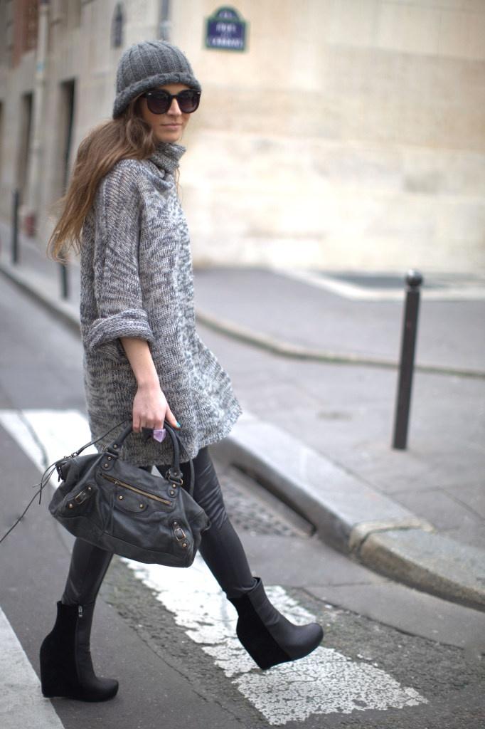 Frassy - layered knitwear