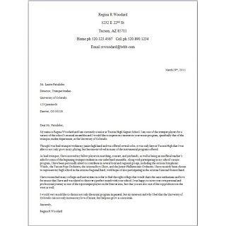 Neto - Disney International College Program: Carta de apresentação