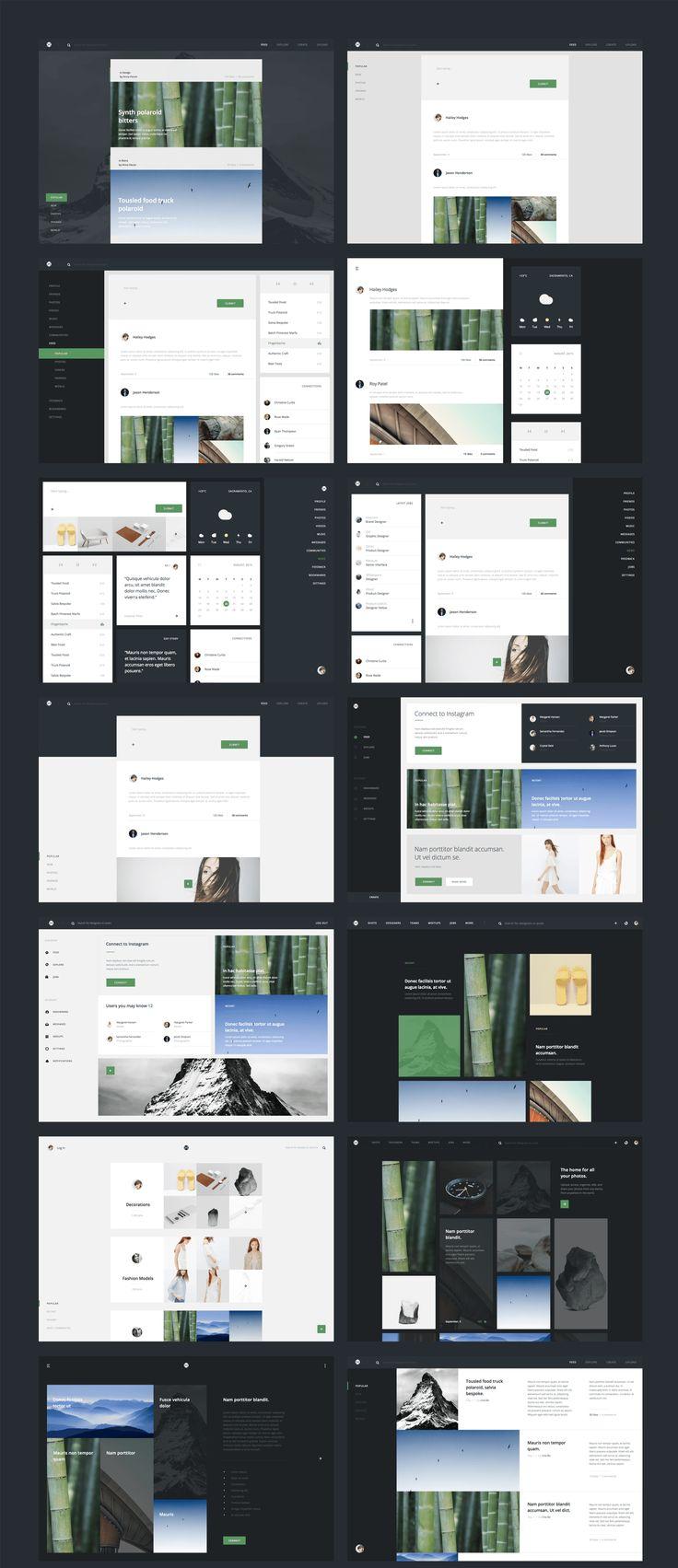 UI8 — Products — Avia UI Kit: Dashboard