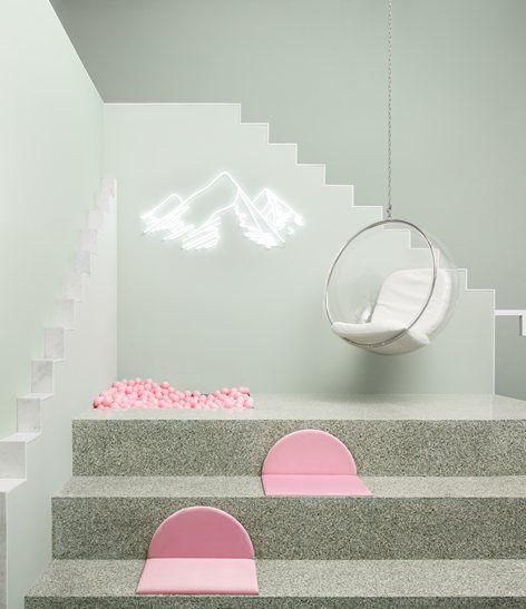 The Budapest Café   Biasol: Design Studio #terrazzo