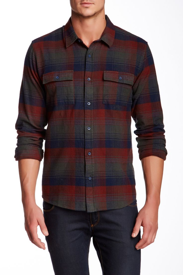 It's flannel season, and we love this one from Nordstrom Rack