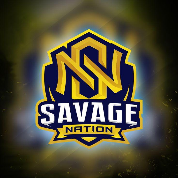 SN Initial Logo Esports in 2020 Initials logo, Sports
