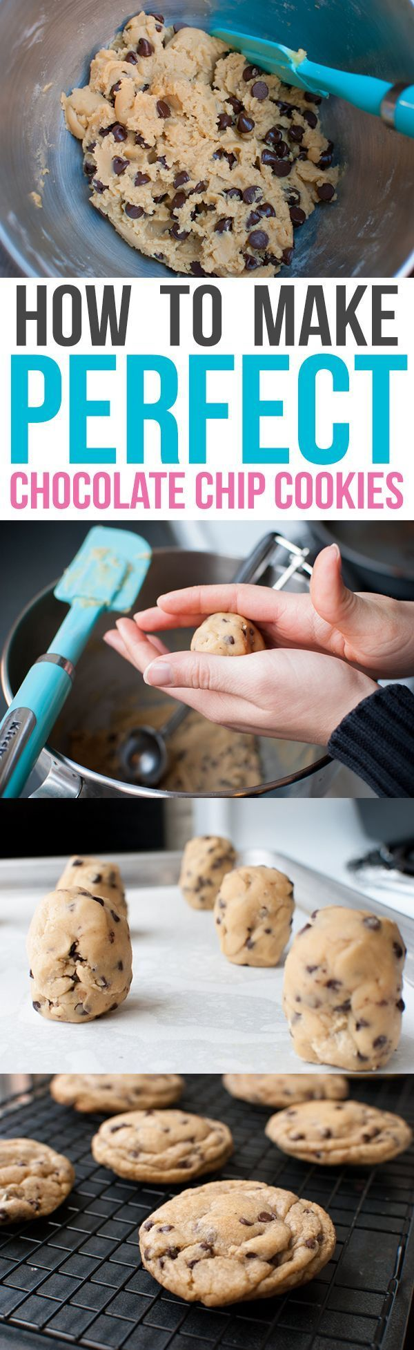 We are talking about perfection. The PERFECT chocolate chip cookie recipe