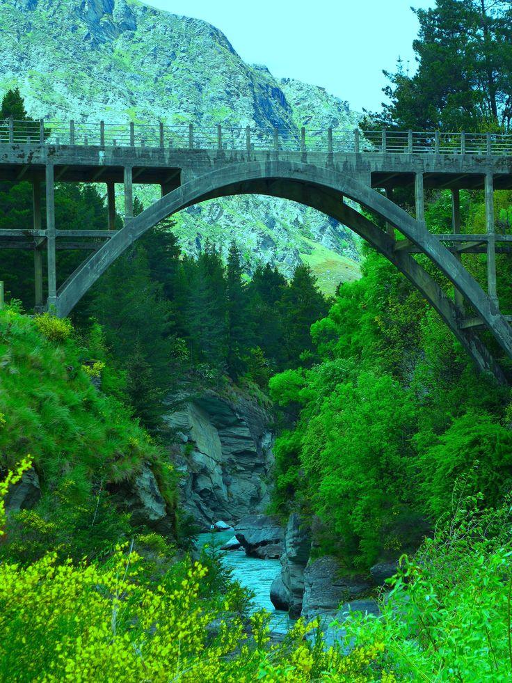 Shotover Bridge, New Zealand