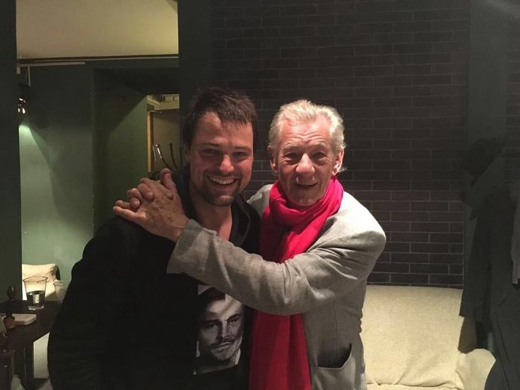 Danila Kozlovsky and Ian MacCallen