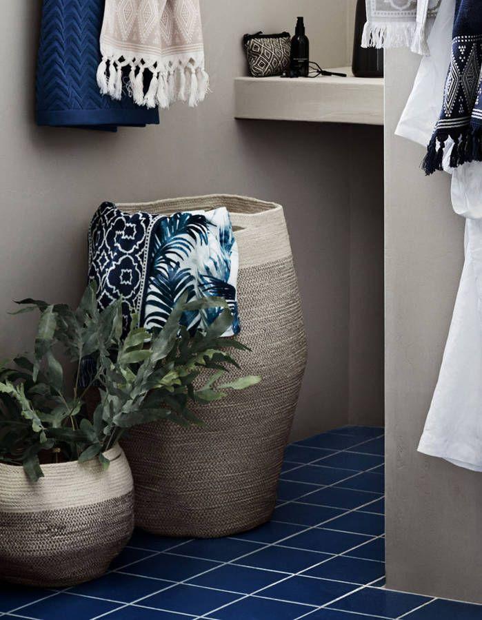 les 25 meilleures id es concernant panier linge sur. Black Bedroom Furniture Sets. Home Design Ideas