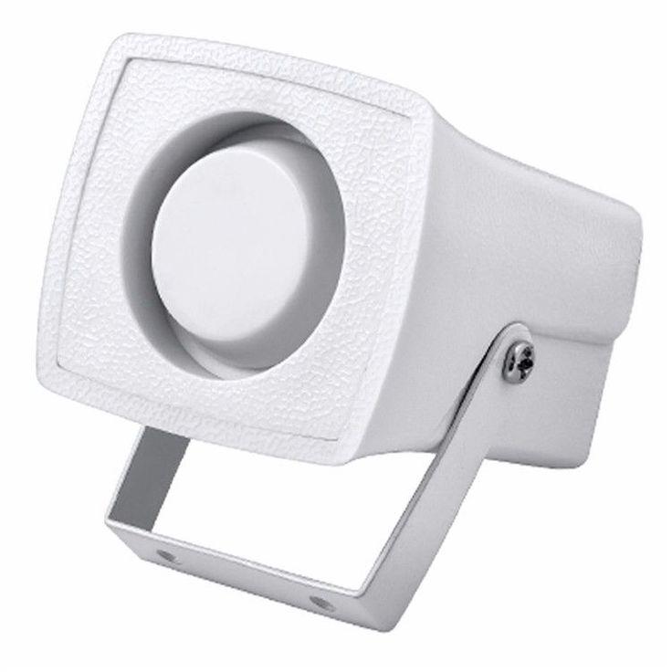Mini alarma de alarma de cuerno 105db Alarma de sonido DC 12V con cable Sirena de interior para el sistema de alarma de casa de la casa