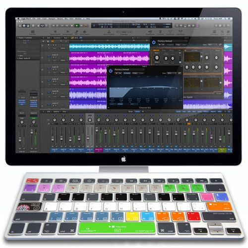USA Logic Pro & Logic Pro X ControlSkin Keyboard Cover