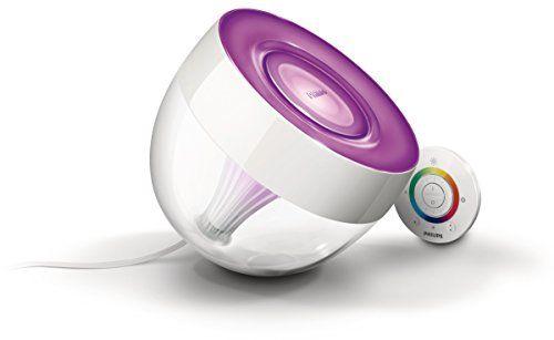 Philips 7099960PH LivingColors Iris Clear Décoration & Lampes d'atmosphère Intensité des couleurs réglable: Dimensions: 17 centimètres…