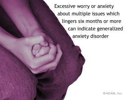 generalized anxiety disorder symptoms