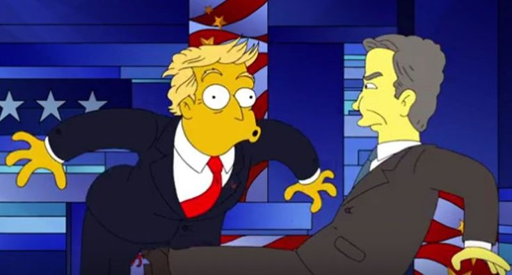 WATCH: 'Simpsons' destroys 'Robot Rubio' and insult-spewing Trump in hilarious debate send-up