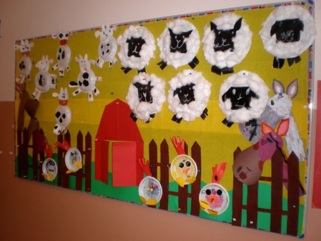 Farm Themed Arts And Crafts For Preschoolers
