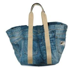 Bag in denim Dolce & Gabbana - better yet - upcycle