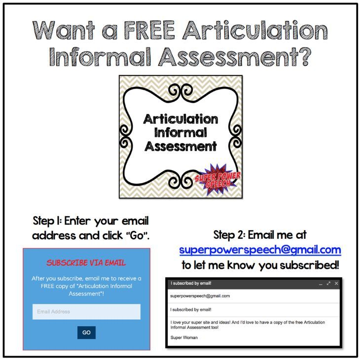 173 Best Slp Free Assessments/Screeners Images On Pinterest