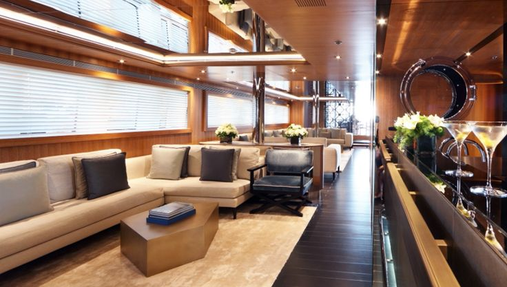 Private yacht, interior design project by Casamilano contract division #casamilano #yachtlife #yachting  #yacht #madeinitaly #luxurylifestyle #luxurylife