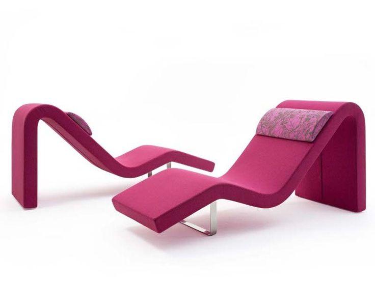 Chaise longue tapizada HIGHWAY O Colección Highway by Segis | diseño Bartoli Design