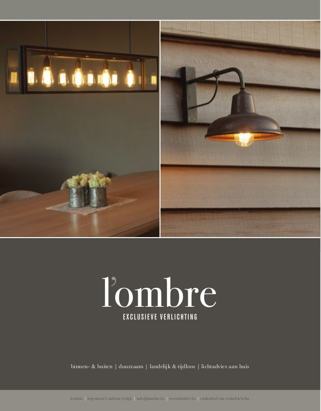 lombre.be - exlusieve verlichting
