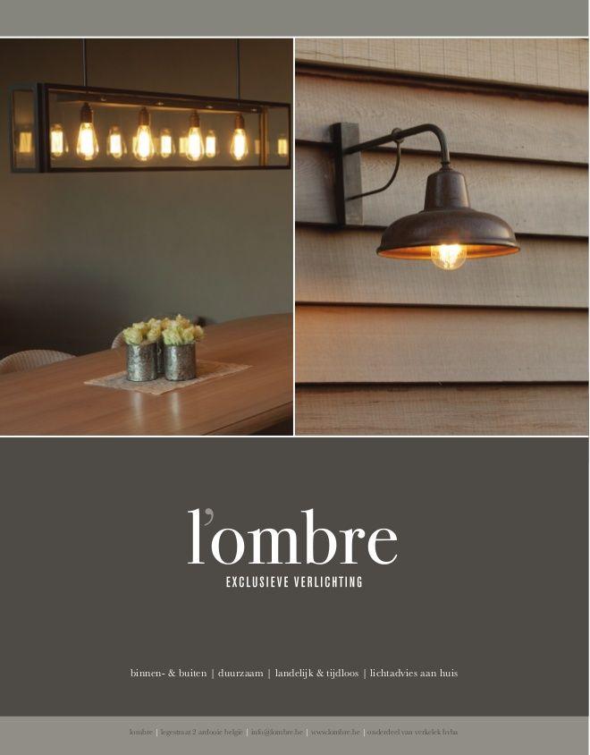 Lombre.be - Exclusieve verlichting