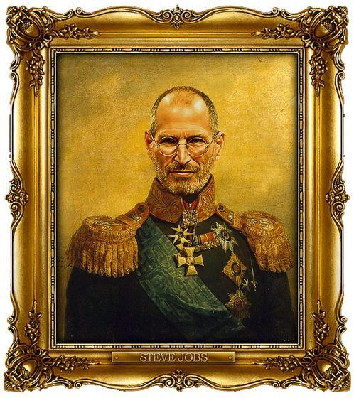 Celebrities Portrayed as Russian Generals - Steve Payne