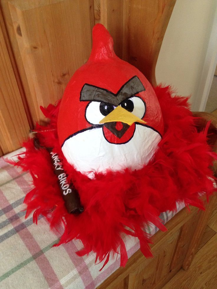 Angry birds easter bonnet!