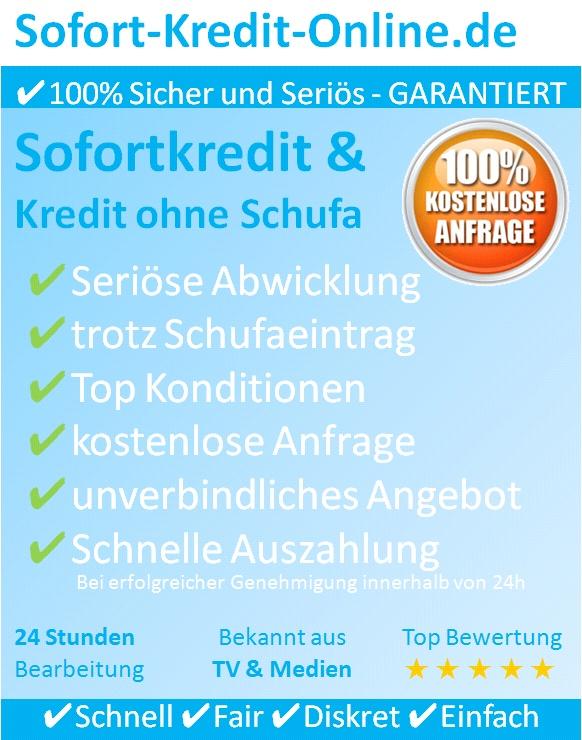 Willkommen auf Sofort-Kredit-Online – ✔Sofortkredit und Kredit ohne Schufa.    Wir über uns – Sofort-Kredit-Online.de  zählt zu renommiertesten Adressen wenn es um den Sofortkredit und Kredit ohne Schufa geht.