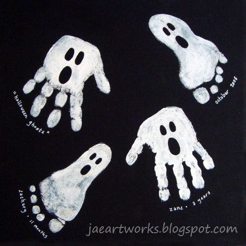 Handprint ghosts!