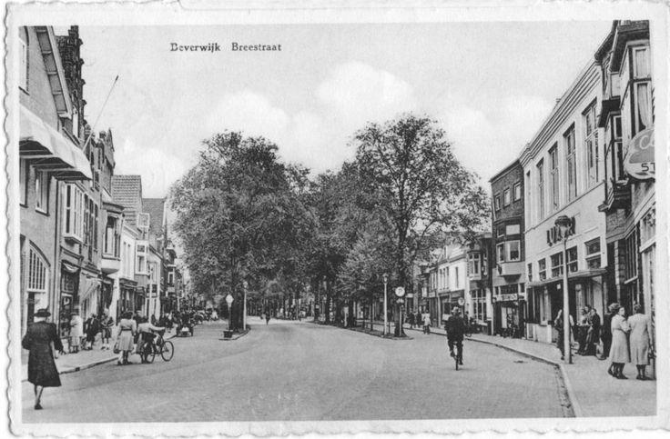 Breestraat Beverwijk (jaartal: 1950 tot 1960) - Foto's SERC