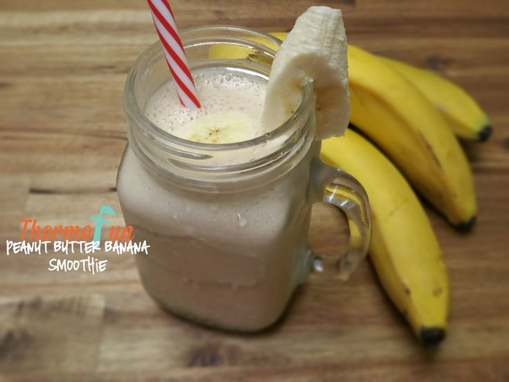 Week 50 Peanut Butter Banana Smoothie