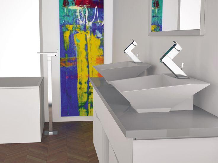 FLASH Miscelatore per lavabo by Remer Rubinetterie