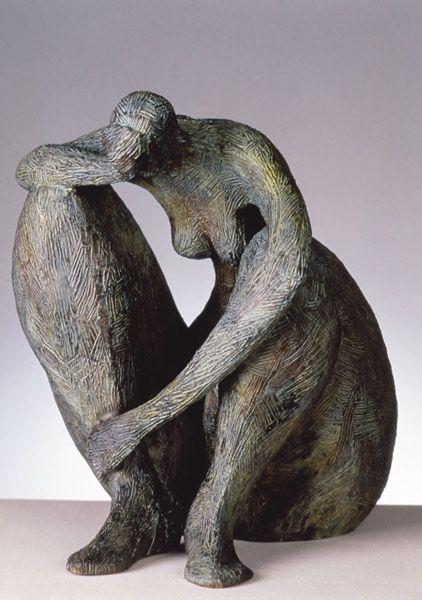 """ Rien ne sert de penser, il faut réfléchir avant..."" ( Pierre Dac ) / Sculpture. / By Marie-Madeleine Gautier."