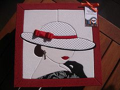 Presentinho (Lu & Fatti a mano) Tags: Caixa patchwork embutido los