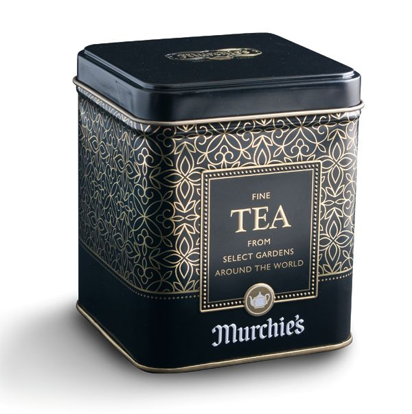 Tea tin by Murchie's