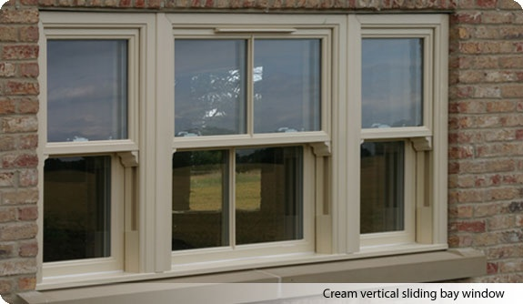 Cream Sash Windows For The Home Upvc Windows House