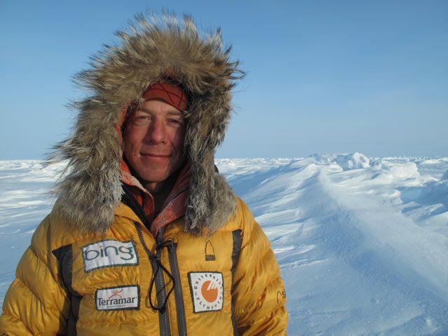 Interview with polar explorer Eric Larsen.