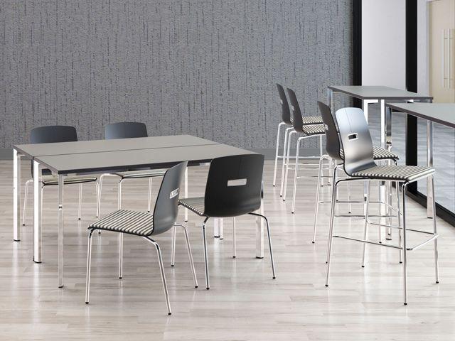 Versteel Breakroom W/ Sate Chairs And Eliga Tables