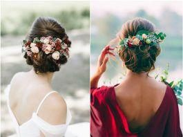 45 Wedding Hairstyles With Flower Crowns Perfect for Your Wedding #motherofthebr…